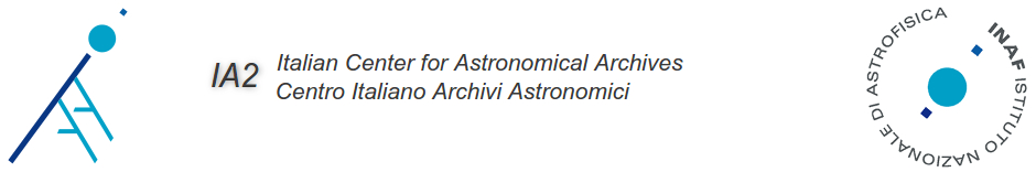 Italian Center for Astronomical Archives - IA2